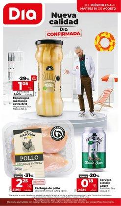 Ofertas de Hiper-Supermercados en el catálogo de Dia Market ( 6 días más)