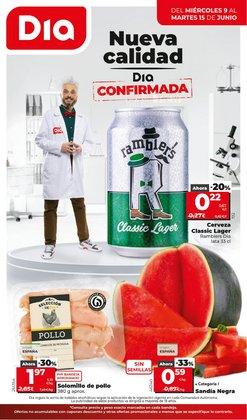 Ofertas de Hiper-Supermercados en el catálogo de Dia Market ( 3 días más)