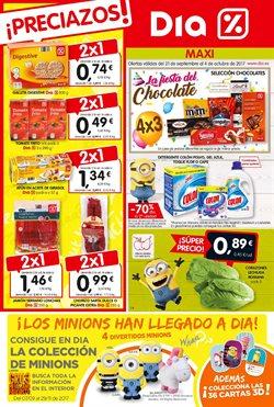 Ofertas de Chocolate  en el folleto de Maxi Dia en Alcalá la Real