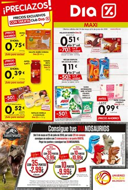 Ofertas de Maxi Dia  en el folleto de Cassàde la Selva
