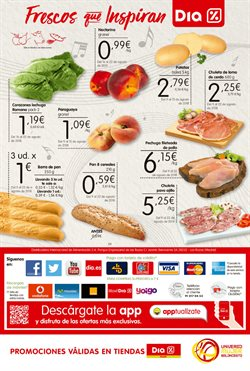 Ofertas de Pechuga de pollo  en el folleto de Maxi Dia en Palamos
