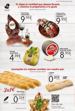 Ofertas de Paleta ibérica de cebo  en el folleto de Maxi Dia en Zamora