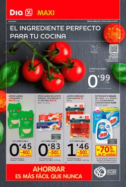 Ofertas de Maxi Dia  en el folleto de Valencia