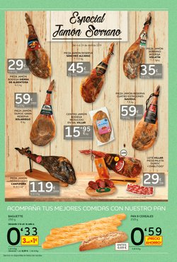 Ofertas de Jamón serrano  en el folleto de Maxi Dia en Algeciras
