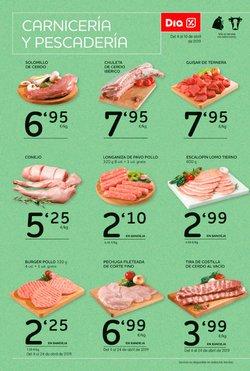 Ofertas de Lomo de cerdo  en el folleto de Maxi Dia en Palamos