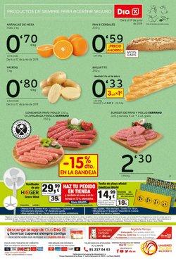 Ofertas de Hamburguesas  en el folleto de Maxi Dia en Jaén