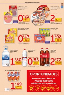 Ofertas de Agua  en el folleto de Maxi Dia en El Ejido
