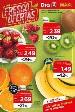 Ofertas de Hiper-Supermercados  en el folleto de Maxi Dia en Algodonales