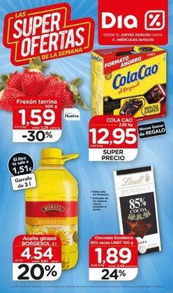 Catálogo Maxi Dia en Olot ( Publicado ayer )