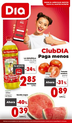 Catálogo Maxi Dia en Palamos ( Caduca mañana )