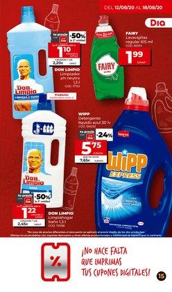 Ofertas de Detergente en polvo en Maxi Dia