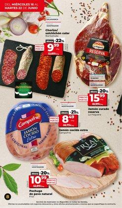 Ofertas de Campofrío en el catálogo de Maxi Dia ( Caduca mañana)