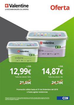Ofertas de Valentine  en el folleto de Bilbao