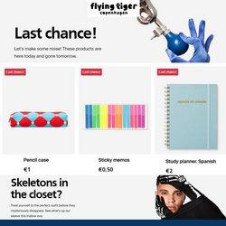 Ofertas de Flying Tiger en el catálogo de Flying Tiger ( 2 días más)