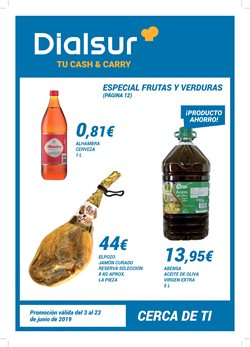 Ofertas de Dialsur Cash & Carry  en el folleto de Petrer