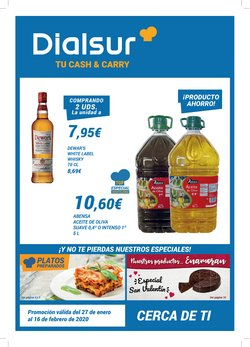 Catálogo Dialsur Cash & Carry en Xirivella ( Caduca hoy )