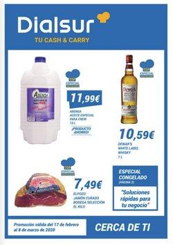 Ofertas de Hiper-Supermercados en el catálogo de Dialsur Cash & Carry en Xàtiva ( 10 días más )