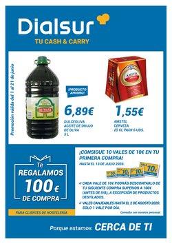 Ofertas de Hiper-Supermercados en el catálogo de Dialsur Cash & Carry en Pobla de Vallbona ( 2 días publicado )