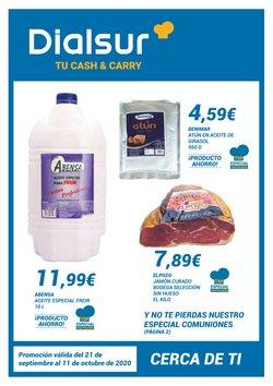 Ofertas de Hiper-Supermercados en el catálogo de Dialsur Cash & Carry en Sueca ( 14 días más )
