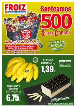 Ofertas de Froiz  en el folleto de Ourense