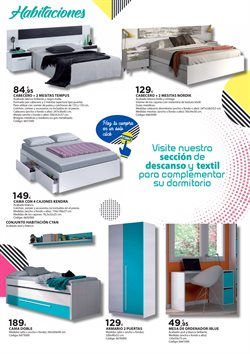 Ofertas de Cabecero  en el folleto de Fes Més en Madrid