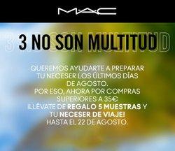 Ofertas de Mac Cosmetics en el catálogo de Mac Cosmetics ( Caducado)