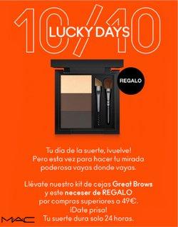 Ofertas de Mac Cosmetics en el catálogo de Mac Cosmetics ( 4 días más)