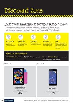 Ofertas de Tablet  en el folleto de Phone House en Logroño