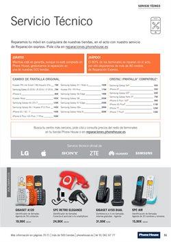 Ofertas de Teléfono inalámbrico  en el folleto de Phone House en Ourense
