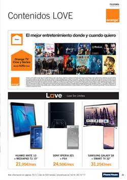Ofertas de Smart tv  en el folleto de Phone House en Madrid