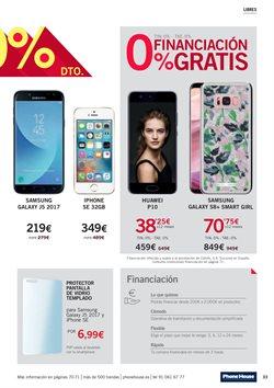 Ofertas de Smartphones Samsung  en el folleto de Phone House en Vecindario