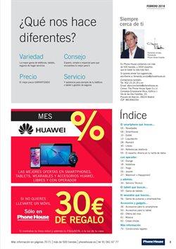 Ofertas de Huawei  en el folleto de Phone House en Vecindario