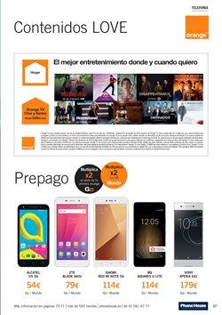 Ofertas de Smartphones Sony  en el folleto de Phone House en Alcalá de Henares