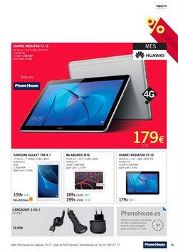 Ofertas de Tablet Samsung  en el folleto de Phone House en Madrid