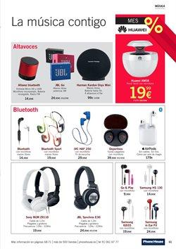 Ofertas de Auriculares deportivos  en el folleto de Phone House en Madrid