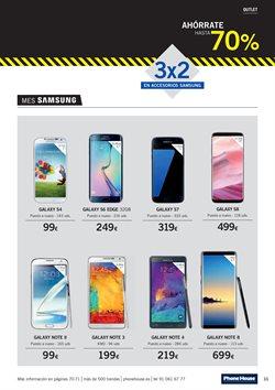 Ofertas de Samsung Galaxy S6  en el folleto de Phone House en Alcalá de Henares