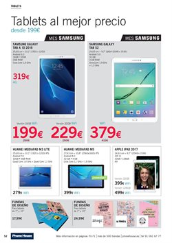 Ofertas de Tablet Samsung  en el folleto de Phone House en Vecindario
