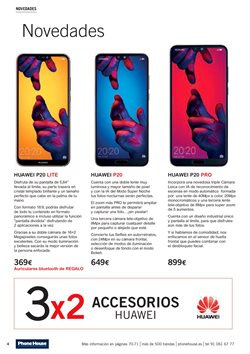 Ofertas de Smartphones Huawei  en el folleto de Phone House en Alcalá de Henares