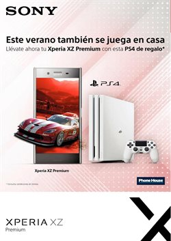 Ofertas de PS4  en el folleto de Phone House en León