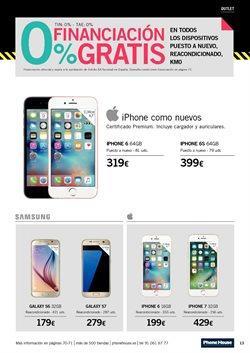 Ofertas de Iphone 7  en el folleto de Phone House en Jerez de la Frontera