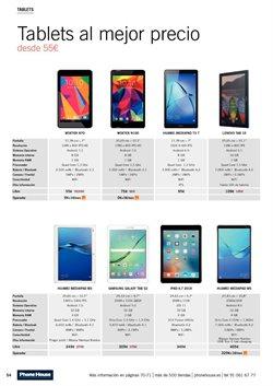 Ofertas de Tablet Samsung  en el folleto de Phone House en Vecindario