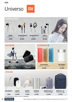 Ofertas de Auriculares bluetooth  en el folleto de Phone House en Dos Hermanas