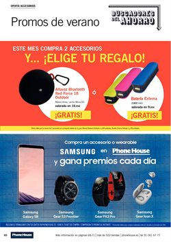 Ofertas de Altavoces bluetooth  en el folleto de Phone House en Alcalá de Henares