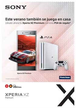 Ofertas de PS4  en el folleto de Phone House en Madrid
