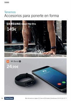 Ofertas de Pulsera de actividad  en el folleto de Phone House en Madrid