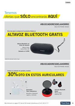 Ofertas de Auriculares bluetooth  en el folleto de Phone House en Madrid
