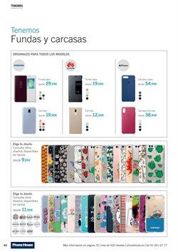 Ofertas de Funda de móvil  en el folleto de Phone House en Madrid