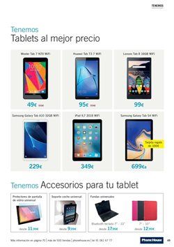 Ofertas de Accesorios tablet  en el folleto de Phone House en León