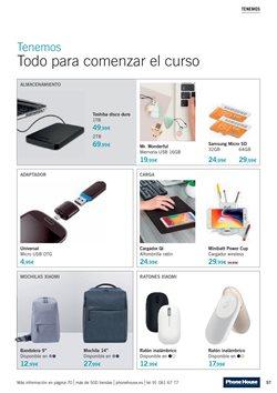 Ofertas de Disco duro  en el folleto de Phone House en León
