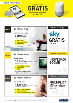 Ofertas de Tarifas móvil  en el folleto de Phone House en Sanlúcar de Barrameda